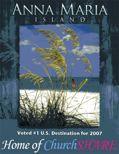 Anna Maria Island Voted #1 U.S. Destination for 2007