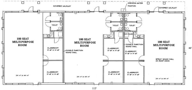 ChurchSHARE new building floorplan